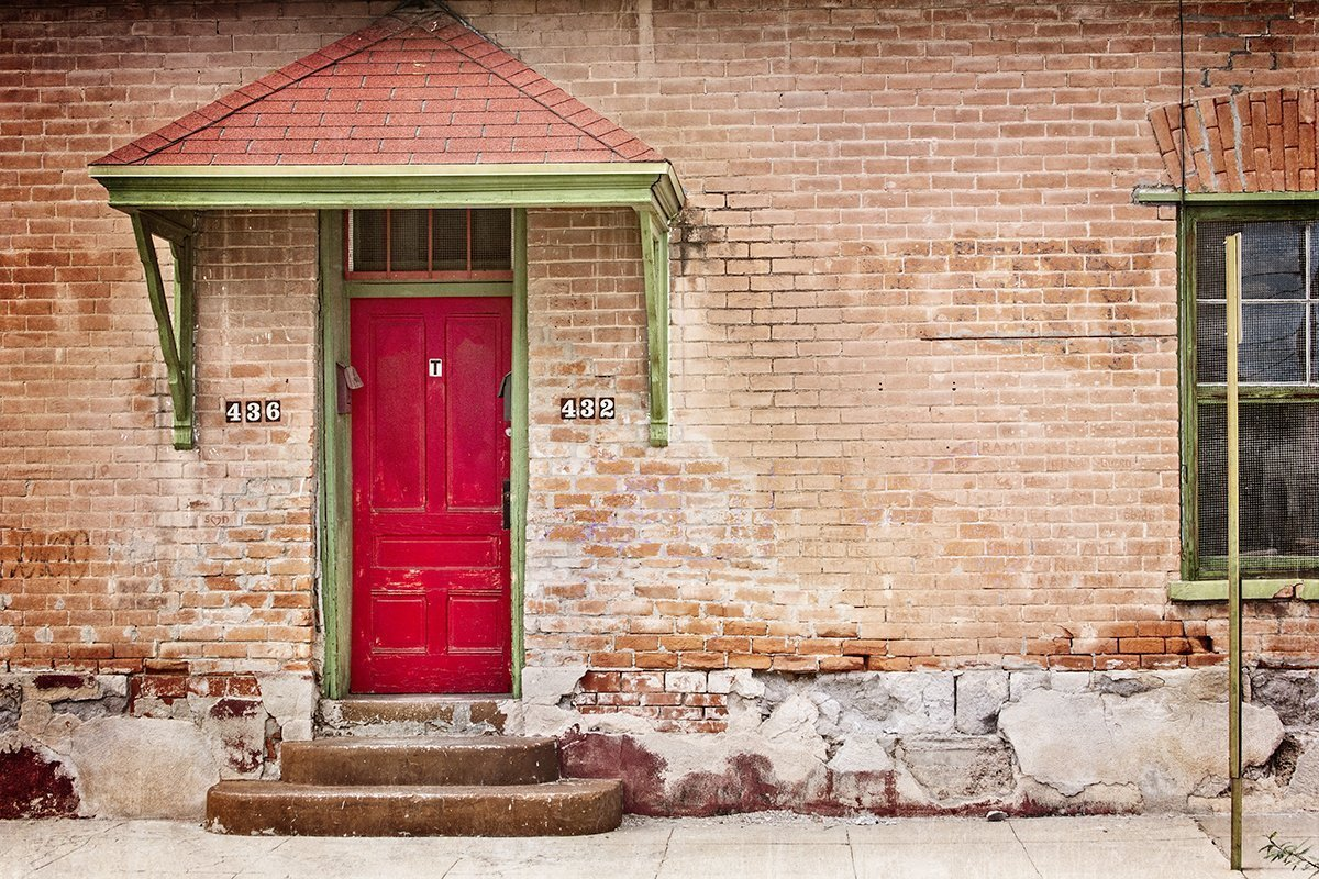 red door to anywhere