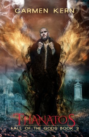 Thanatos book three of the Fall of the Gods series